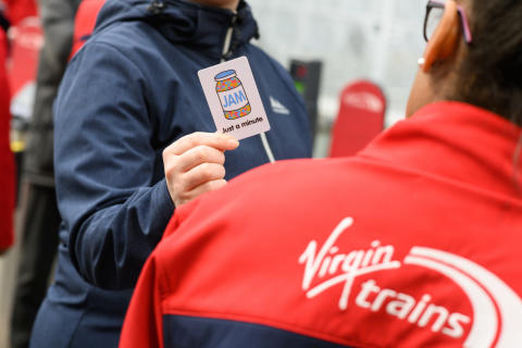 JAM card introduced by Virgin Trains for customers with communications barriers