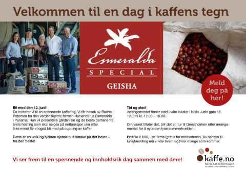 Invitasjon Esmeralda