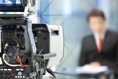 PRCA workshop   TV presenter essentials for live webcasting