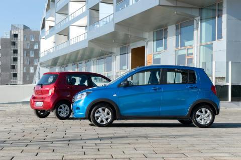 Danmarkspremiere på ny Suzuki Celerio