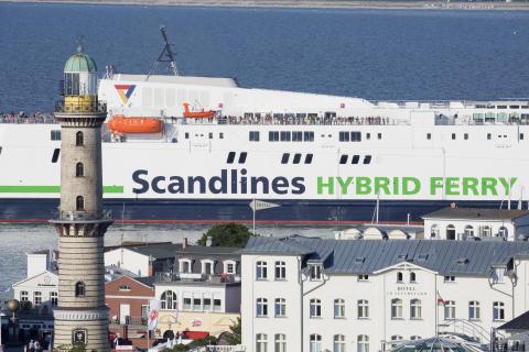 Scandlines' neue Hybridfähre Berlin