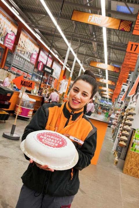 Hornbach har nöjdast kunder för fjärde året i rad  − får högst betyg i SKI:s mätning