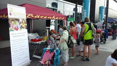 Family Run im Paunsdorf Center: Laufen für Bärenherz