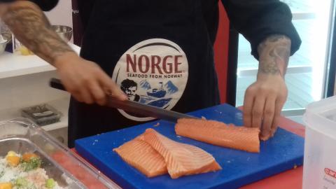 Tapas a la Noruega