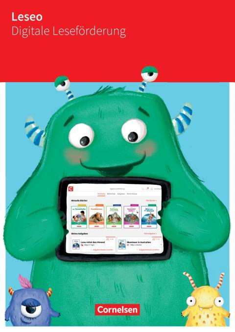 """Pressemappe """"Leseo"""" zur digitalen Leseförderung für Kinder"""