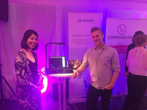 XMReality present at LARM career fair at Linköping University