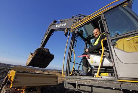 Byggstart för Swecons nya huvudkontor - Tomas Kuta