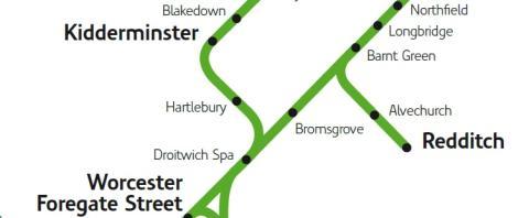 Hartlebury Rail Service is Best in 50 Years