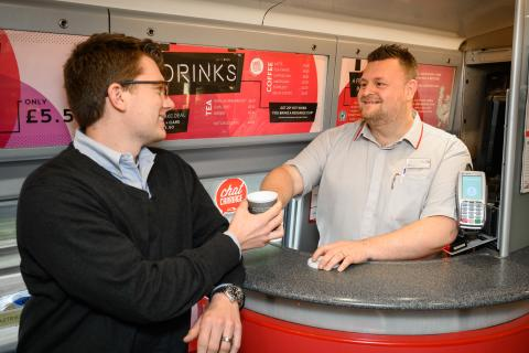 Chat Carriage - Free Hot Drink