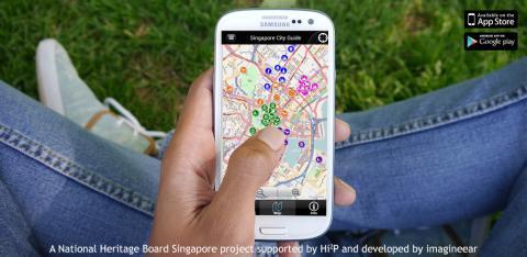 Building a city tour app - CultureKey Singapore