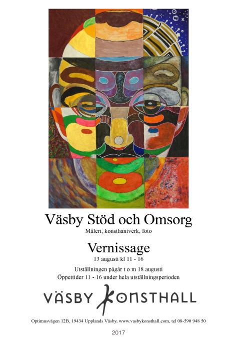 Väsby Stöd och Omsorg, Väsby Konsthall 13-18 augusti