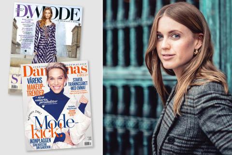 Plaza Kvinnas chefredaktör blir moderedaktör på Damernas Värld