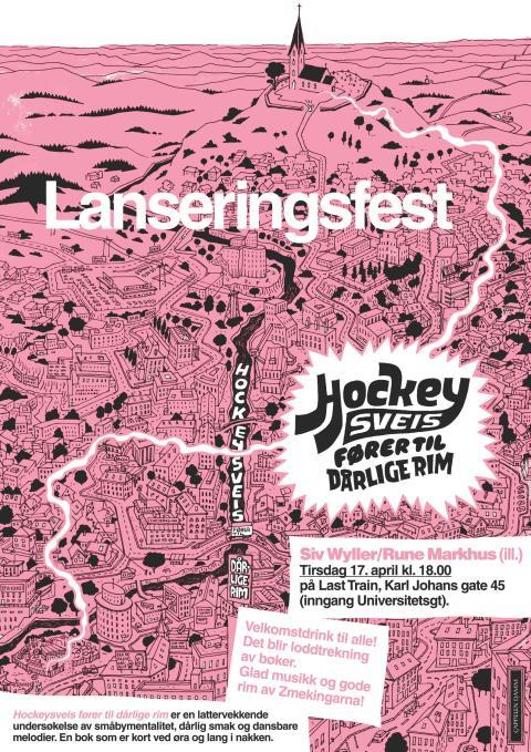 Lanseringsfest Hockeysveis fører til dårlig rim