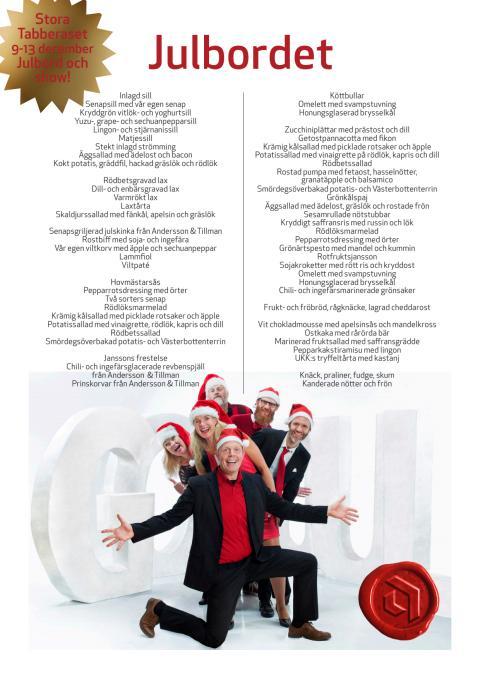 På julbordet - Stora Tabberaset 2015