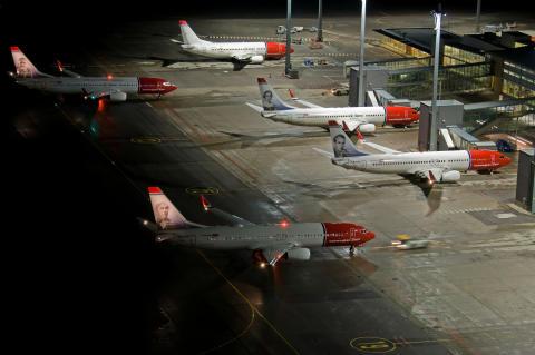 Norwegianin helmikuun liikennetiedot Vahvat matkustajalukemat, korkea käyttöaste ja kasvavat yksikkötuotot