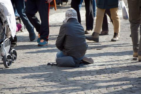 Majoritet av stockholmarna vill förbjuda tiggeri