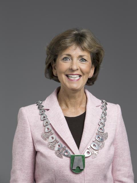 Mayor Lisbeth Hammer Krog (Foto: Hans Fredrik Asbjørnsen)
