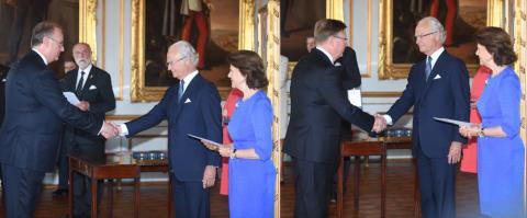 Kungliga medaljer till Rustas grundare