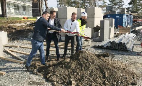 """""""Sista"""" spadtaget för Riksbyggens tredje etapp på Slottsberget i Göteborg"""