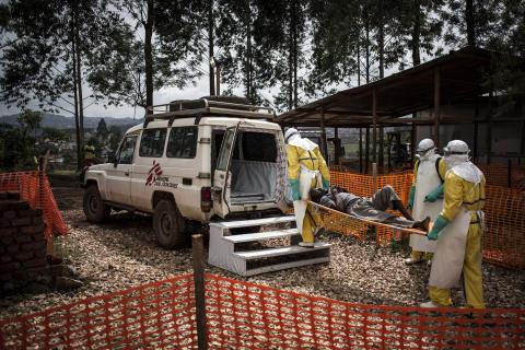 Kongo-Kinshasa: Ebolaepidemin ännu inte under kontroll