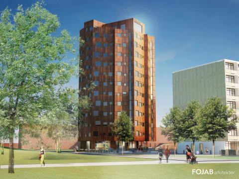 Helsingkrona student lgh, är nominerat till ett arkitektpris