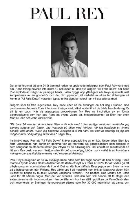 Paul Rey biografi