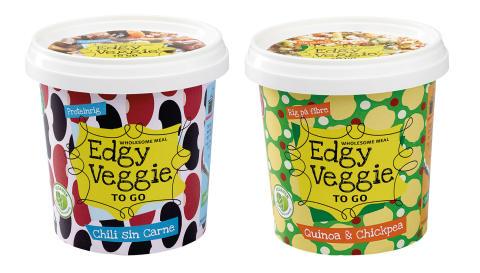 Edgy Veggie To Go - et godt måltid på 5 min.
