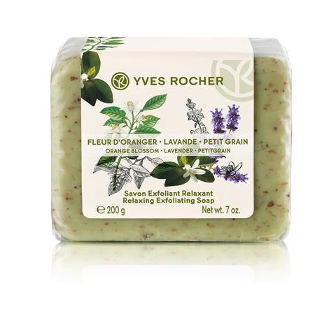 Orange Blossom Lavender Petitgrain Relaxing Exfoliating Soap