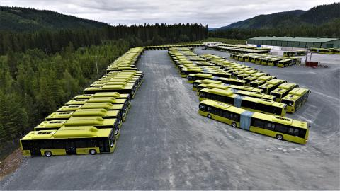 189 MAN-busser til Trondheim