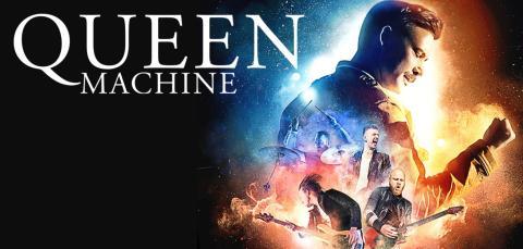 Queen Machine - närmare drottningen kommer du inte! 4 konserter i Sverige i februari.