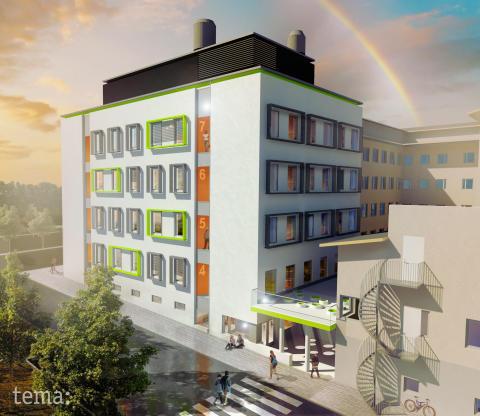 Rudbeck 3 första Miljöbyggnad Guld -  Tema är miljöbyggnadssamordnare