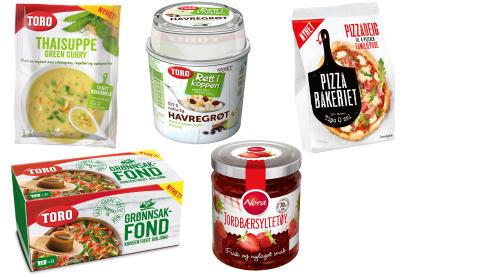 Nye produkter fra Orkla Foods Norge