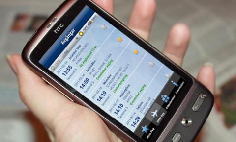 Android-applikation för Arlanda ute nu