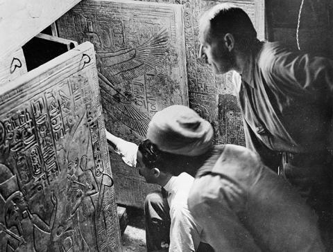 Underbara ting -  föreläsning om Howard Carter och upptäckten av Tutankhamons grav