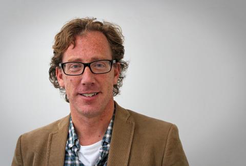 Konrad Tollmar, docent på Skolan för informations- och kommunikationsteknik vid KTH. Foto: Jenny Minnema.