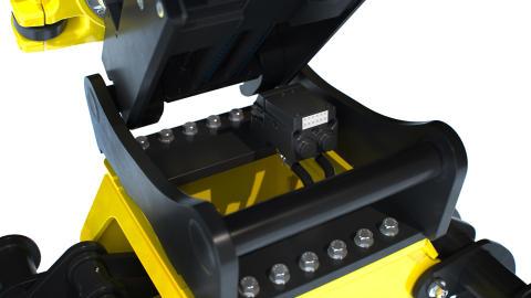 Det automatiske hurtigskiftsystem, EC-Oil, er standard på Engcons hurtigskift, tiltrotatorer og hydrauliske redskaber