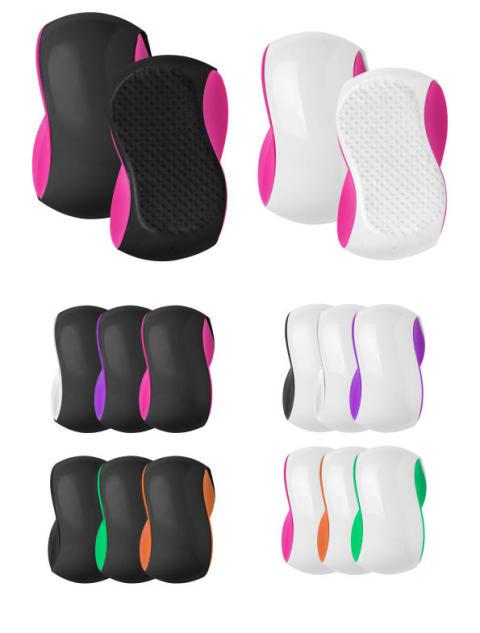 Flokeløsende og ergonomisk børste