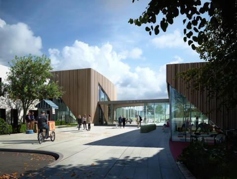 Norconsult og Skanska skal bygge det nye folkehelsesenteret i Orkdal
