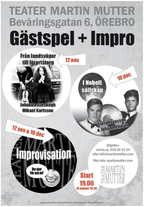 Stefan Jansson gästspelar på Teater Martin Mutter
