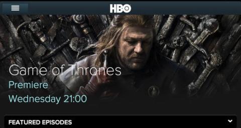 Guide til HBO på smartphone og tablet