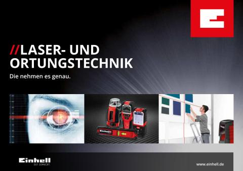 Broschüre Laser- und Ortungstechnik