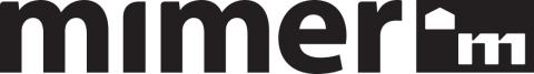 Mimers svarta logotyp