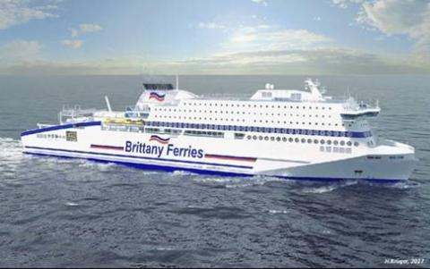 Kongsberg Maritime: KONGSBERG Wins EPCI Contract for Newbuild LNG Fuelled RoPax Ferry
