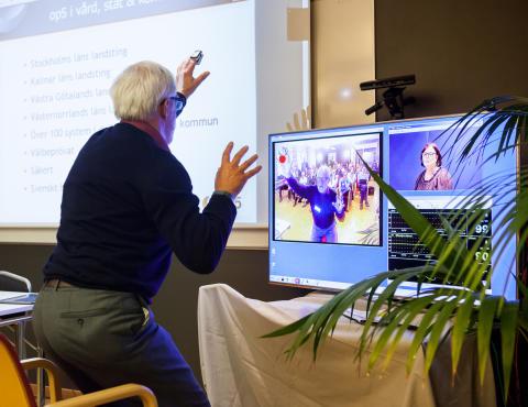 Demo av forskningsresultat: Vård i hemmet med IT-stöd