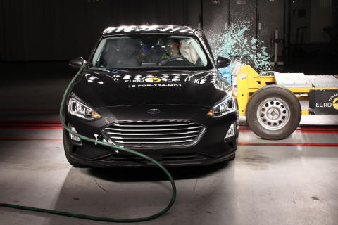 Ford Focus side impact test 2019