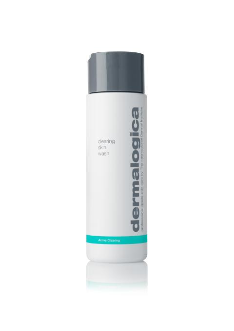 Clearing Skin Wash 8oz On White Background