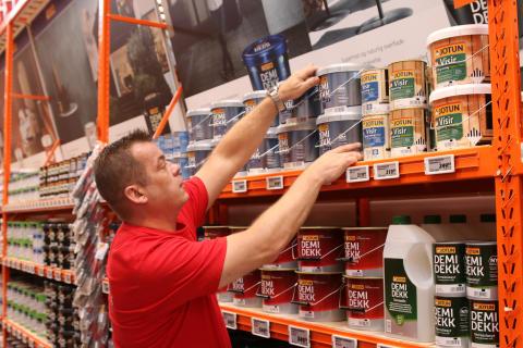 Medarbejderne i BAUHAUS Gladsaxe er klar til at yde kompetent rådgivning, når byggevarehuset åbner