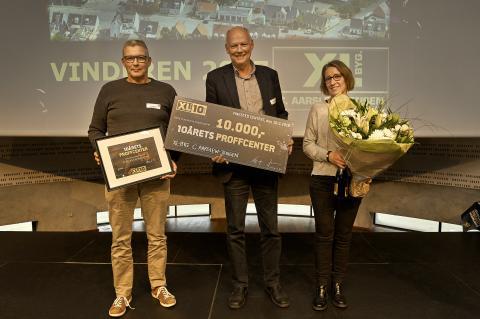Årets XL-BYG Profcenter 2017 - Aarslew-Jensen