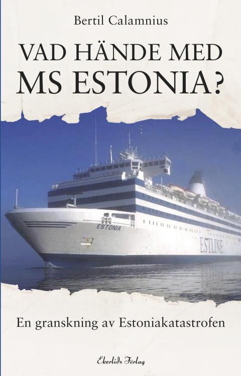 Omslag till boken Vad hände med MS Estonia?