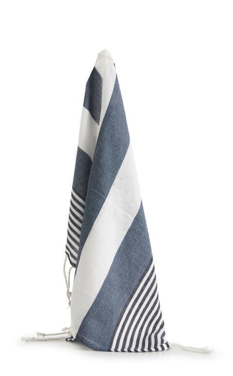 Hamam handduk liten ECO 50 x 70 cm, blå